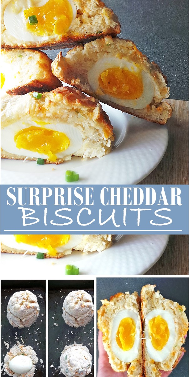 SURPRISE CHEDDAR BISCUITS #Breakfastideas
