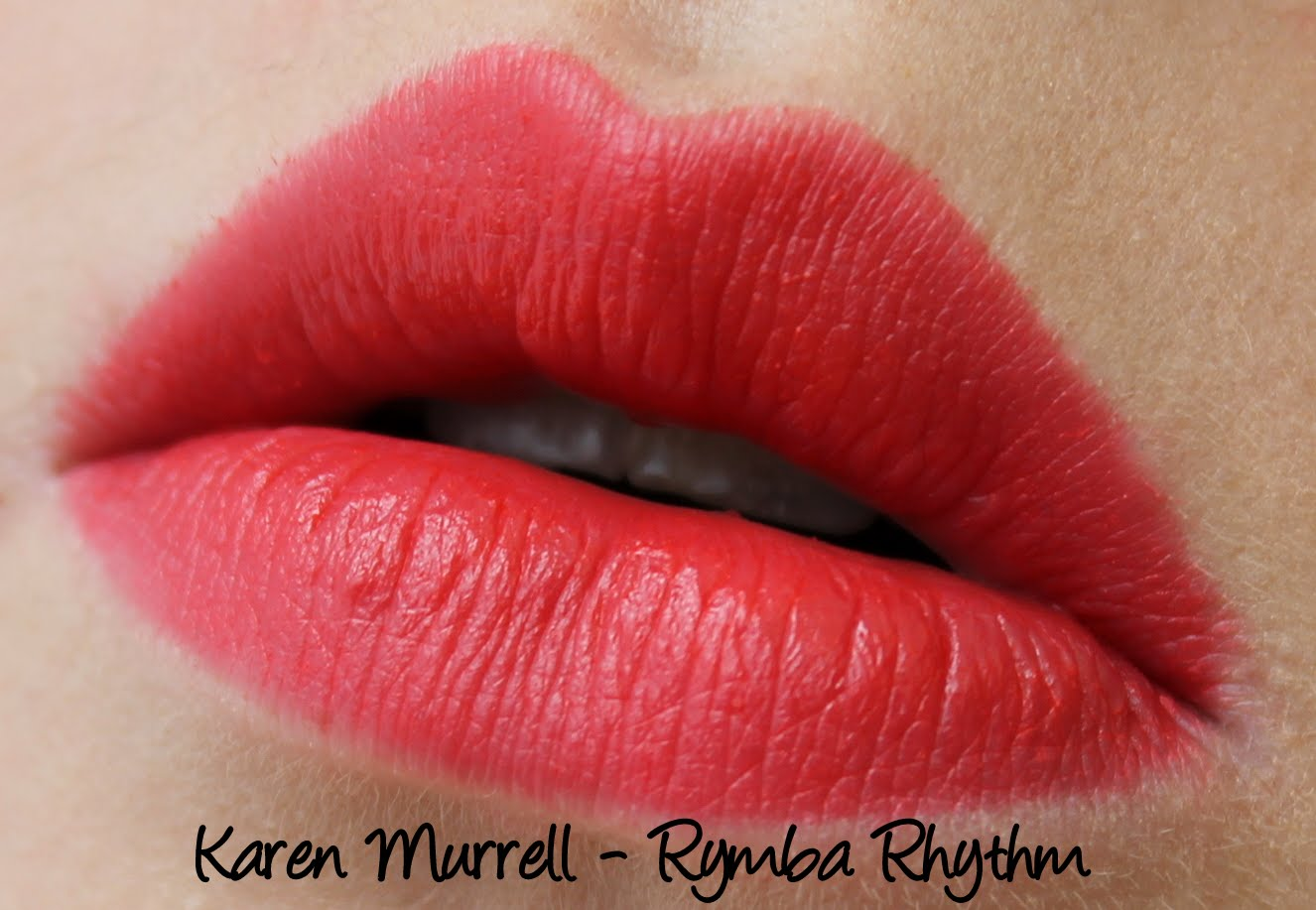 Karen Murrell Rymba Rhythm Lipstick Swatch and Revoew