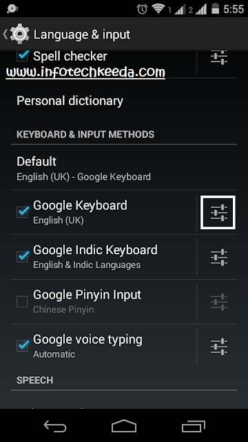Change Your Google Keyboard background without any Software 2