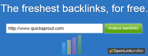 Competitor backlink checker tool