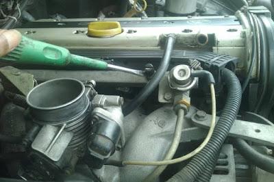 Letak pentil injector bensin Blazer