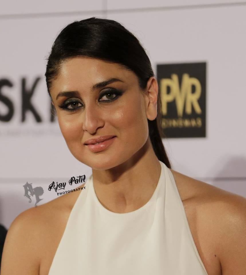 Kareena Kapoor 2016 Beautiful Photos In White Dress