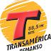 TRANSNOTICIAS TRANSAMÉRICA 88,5 fm DE SEGUNDA A SEXTA-FEIRA ÀS 7 HORAS DA MANHÃ