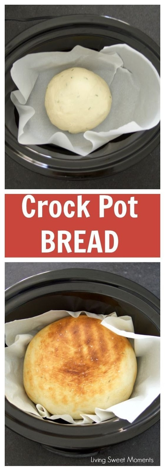 Herbed Crock Pot Bread Recipe