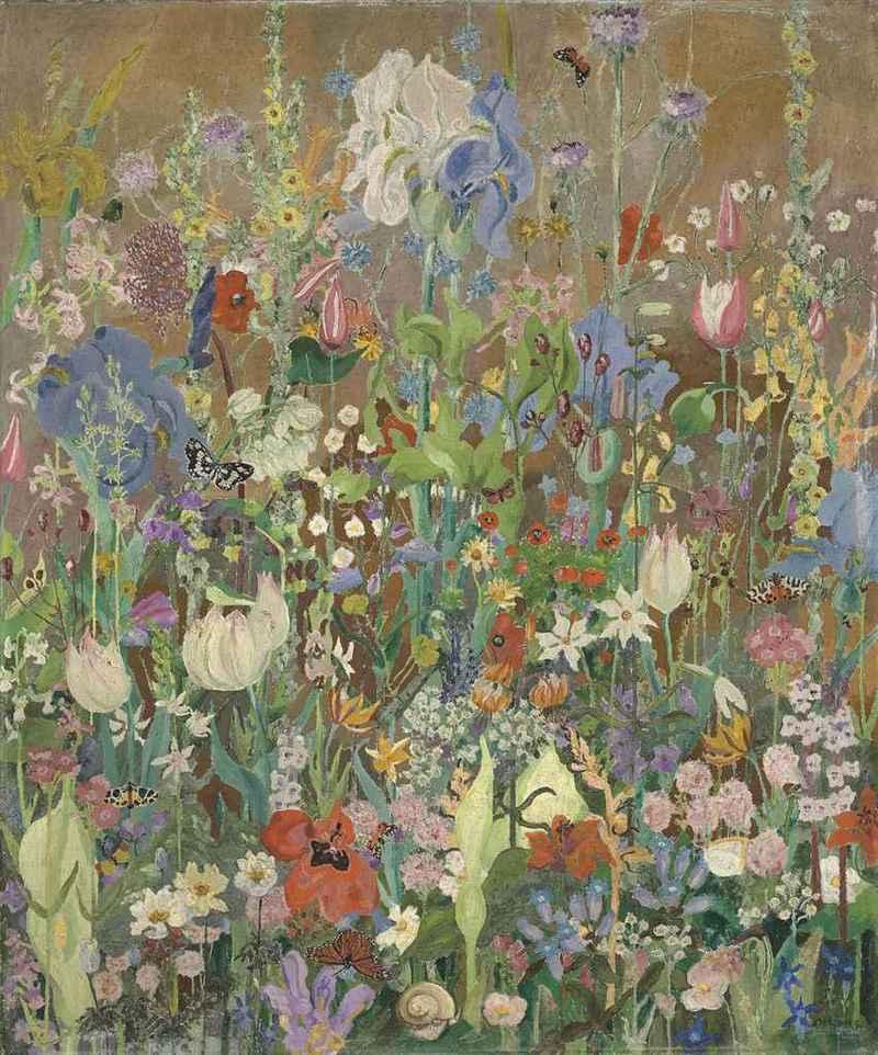 Summer flowers. Cedric Morris. flores de verano