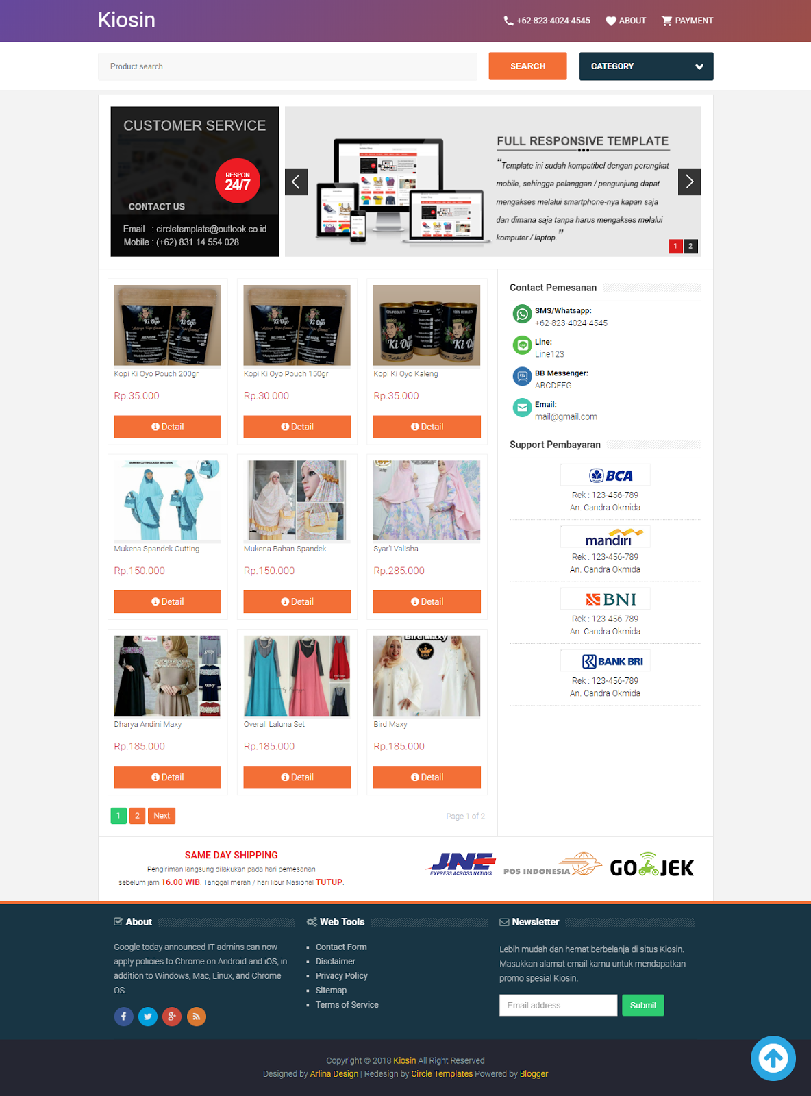 Funky Blogger Store Template Motif - Example Resume and Template ...