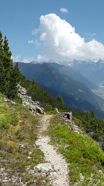 Gipfelweg Zamangspitze  Wandern Silvretta-Montafon  Vorarlberg 16