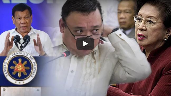 LOOK: Ombudsman Morales Nakatikim sa Matatapang na Salita kay Rep.Roque, Nakahanap ng Katapat