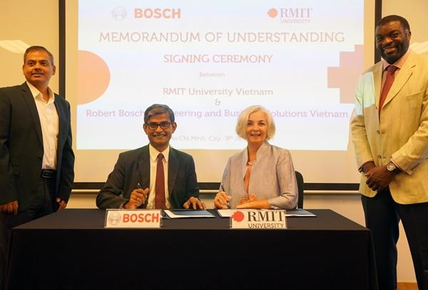 Ký kết hợp tác nâng cao trải nghiệm cho sinh viên RMIT