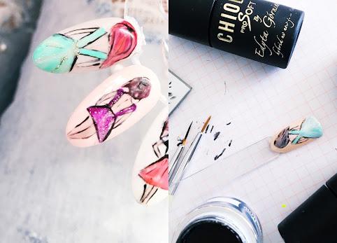 Pomysł na hybrydy. Zdobienie Fashion Art ChiodoPro krok po kroku.