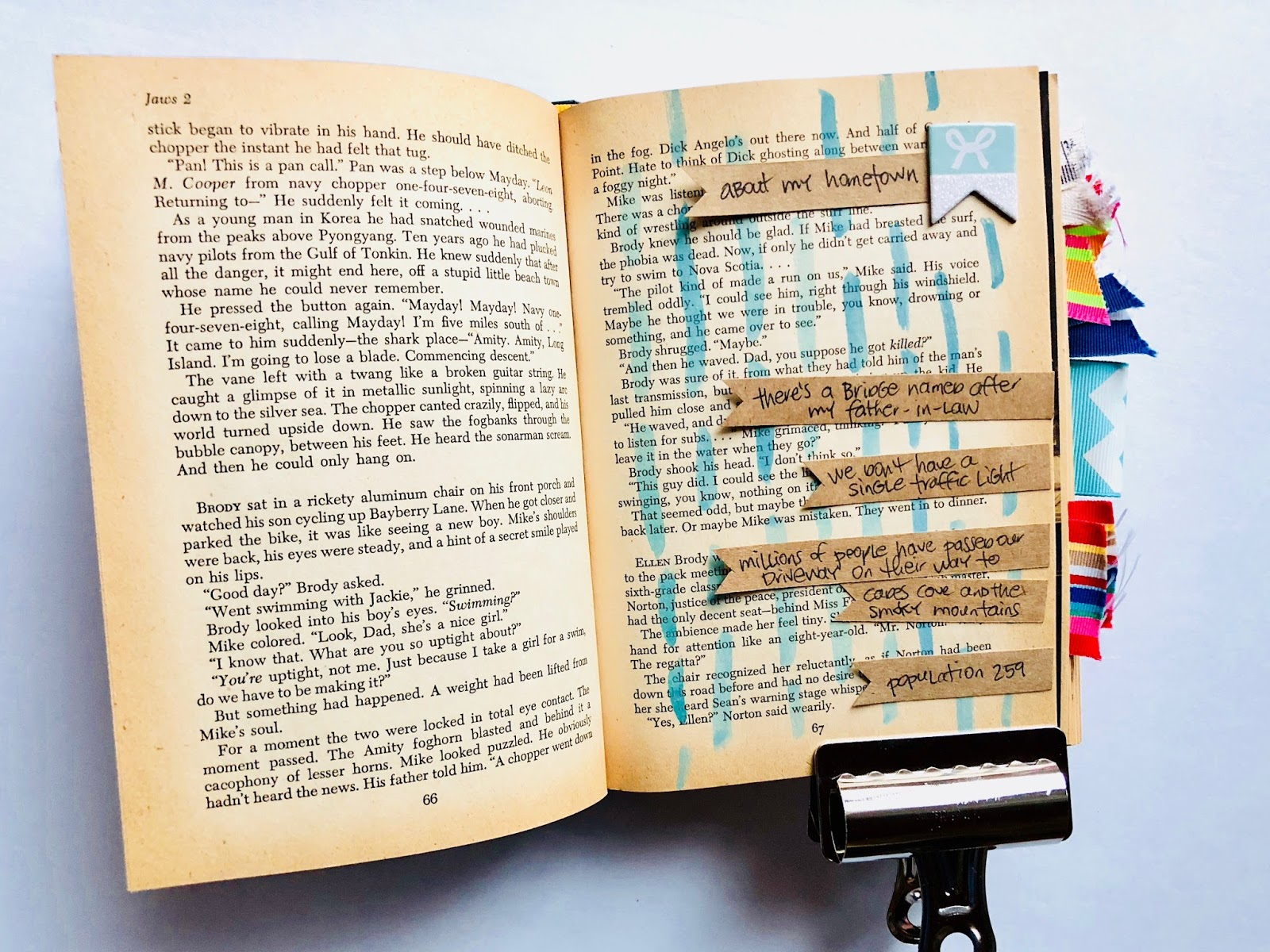 #lists #altered book #upcycle #book #art journal #journaling #list challenge #watercolor #ribbon
