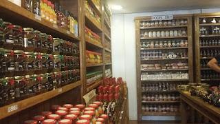 Comércio de doces em Ouro Preto