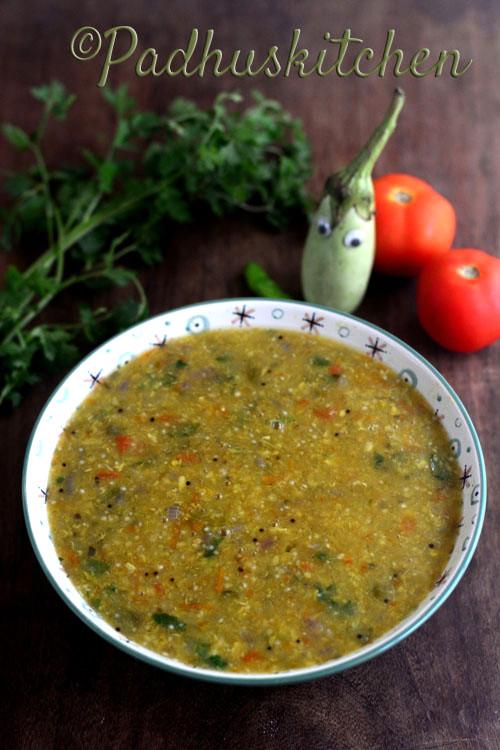 Kathirikkai Kadayal-Brinjal Side Dish for Idli Dosa