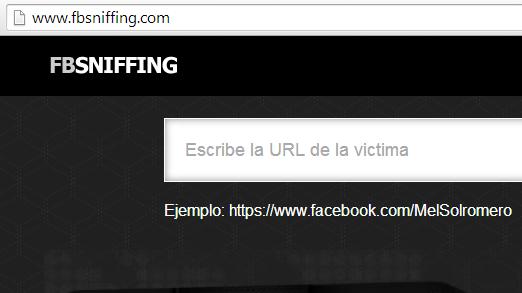 FBsniffing y el engaño para hackear Facebook