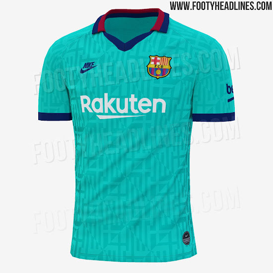 Barcelona 19-20 Third Kit Leaked + Release Date - Footy
