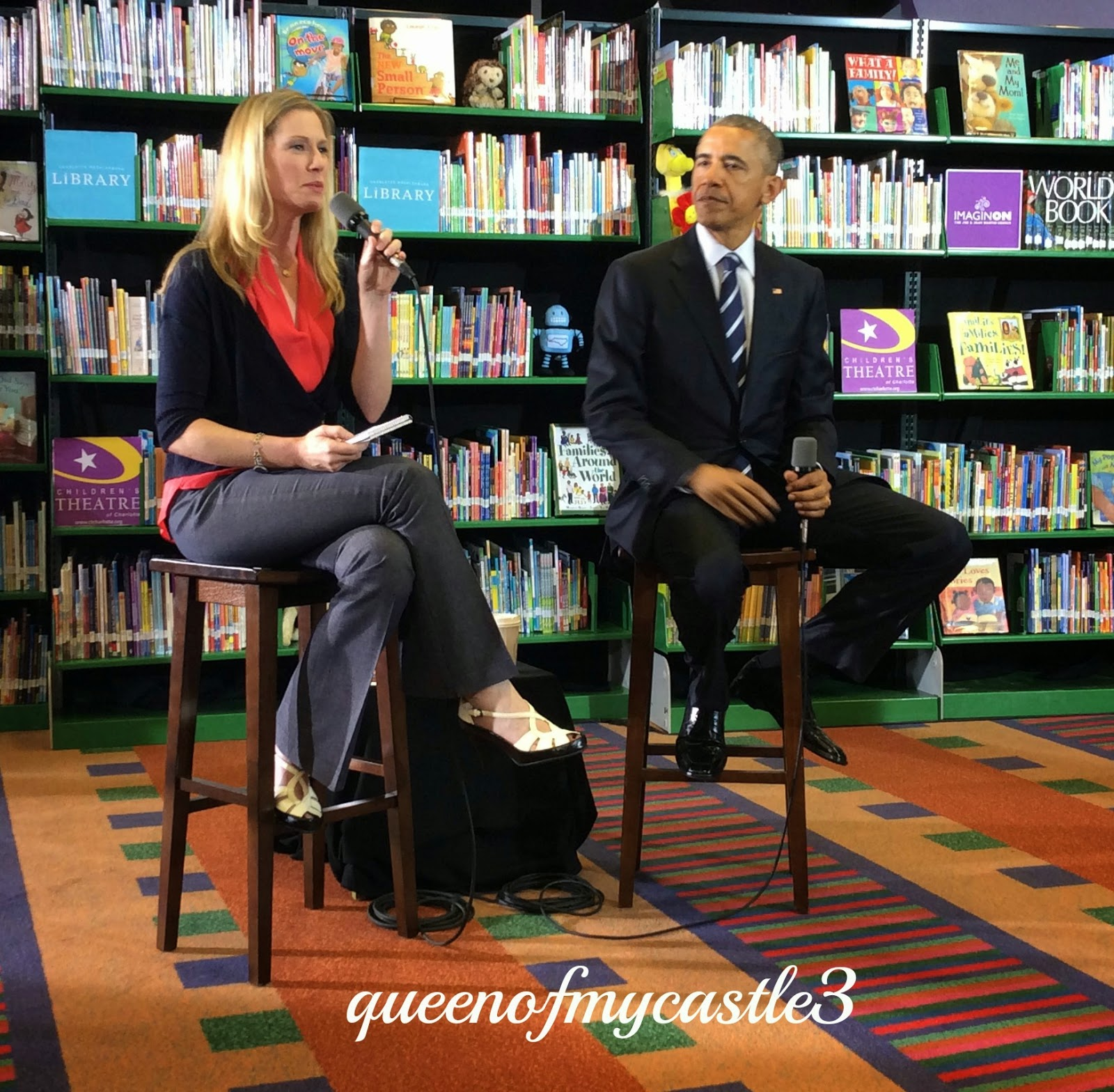 Lisa Stone interviews Barack Obama