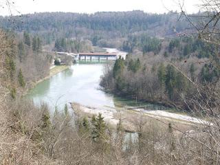 Beginn Isar-Werkkanal bei Buchenhain