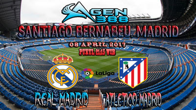 JUDI BOLA DAN CASINO ONLINE - PREDIKSI PERTANDINGAN LALIGA SPANYOL REAL MADRID VS ATLETICO MADRID 08 APRIL 2017 2017