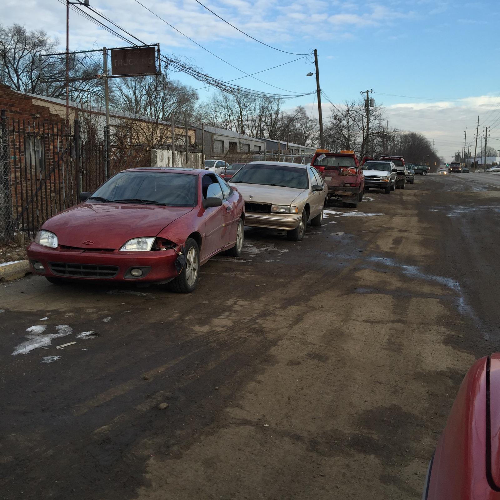 Pick A Part Indianapolis: Indianapolis Junk Cars