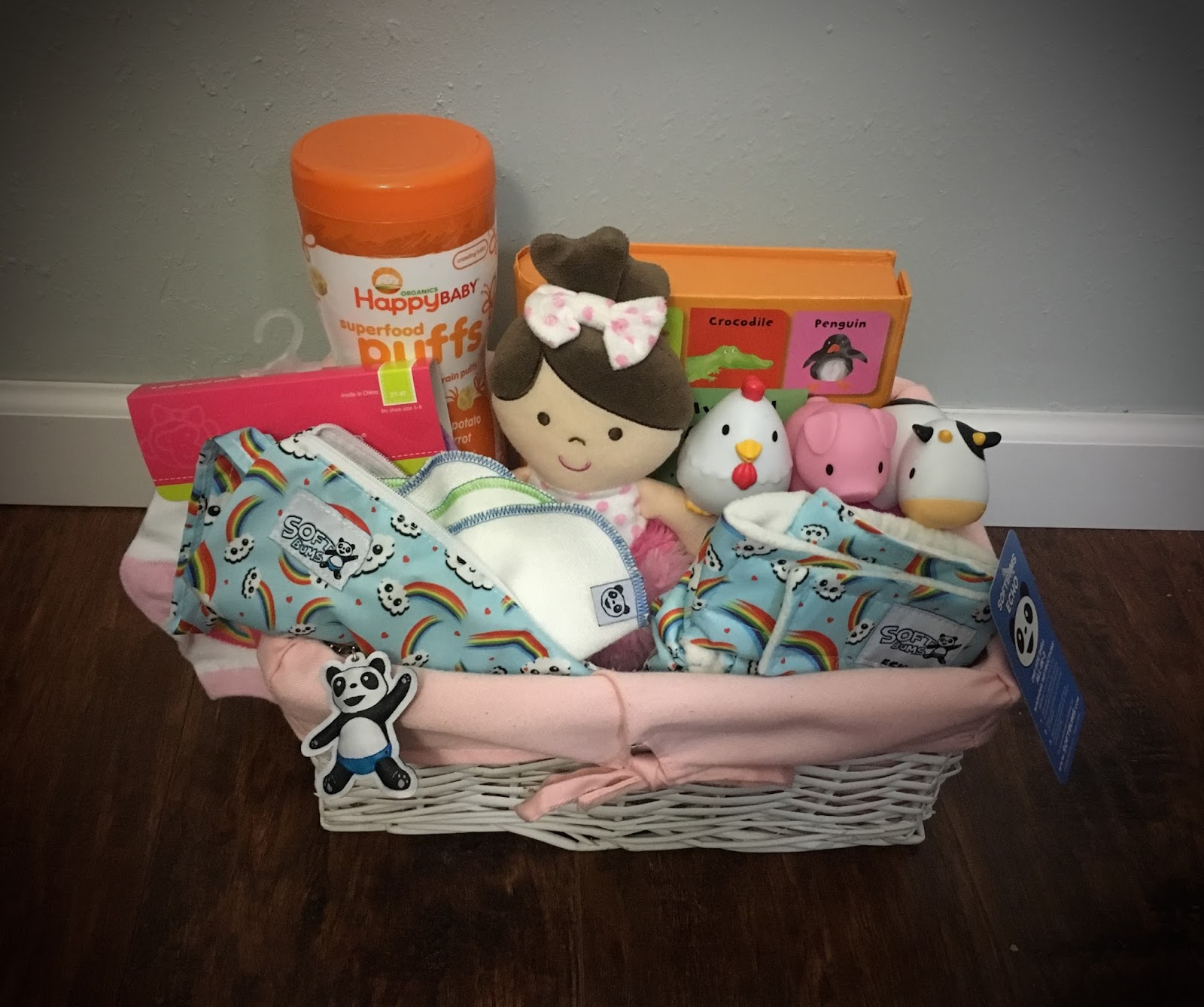 The softbums blog april 2017 its easter time again and this year we are on a mission to create a cute basket that doesnt involve sweets heres a practical baby basket that your negle