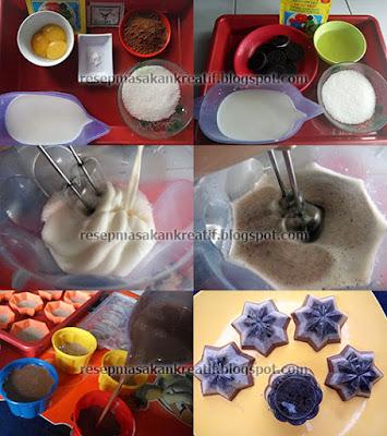 Cara Membuat Puding Coklat Oreo