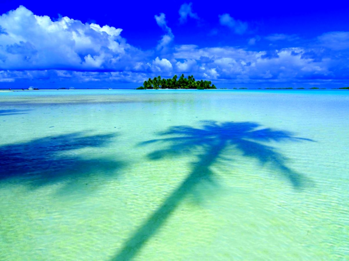 Tropical Island Beach Ambience Sound: Tropical Island Screensavers