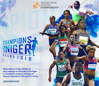 African senior athletic championship event 2018