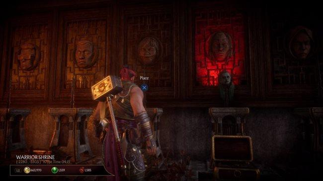 Mortal Kombat 11 ? So öffnen Sie Shang Tsungs Thronraum (Warrior Shrine Heads Puzzle Guide)