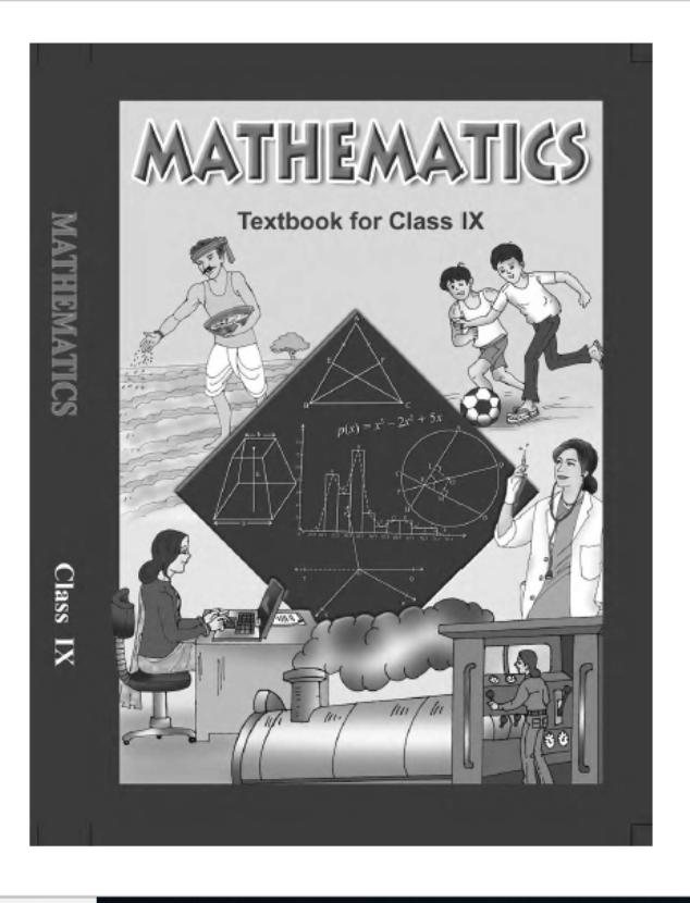NCERT Mathematics Class-9 : For Englsih Medium Students PDF Book