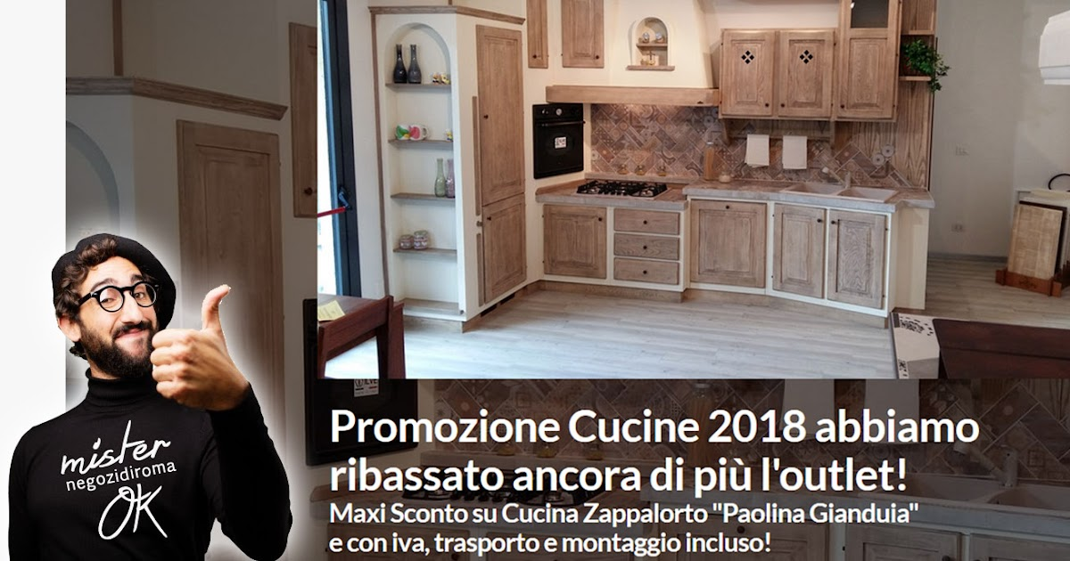 Offerte cucine a Roma? Si da Arredamenti Puglisi