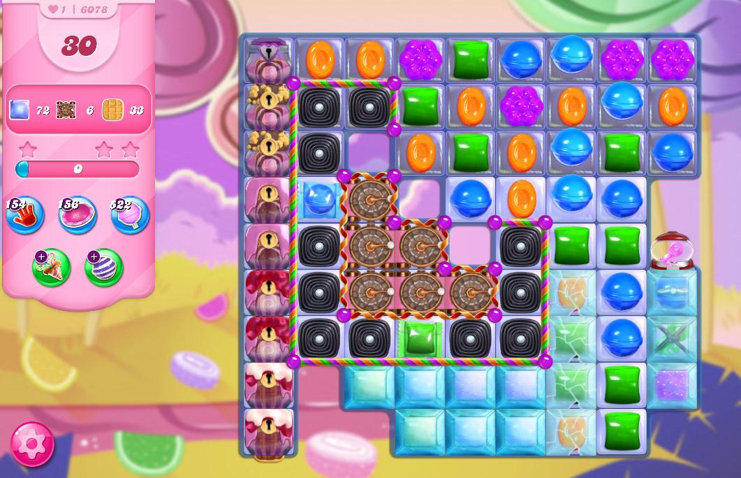 Candy Crush Saga level 6078