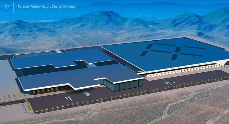 Trụ sở dự kiến của Faraday Future tại Las Vegas
