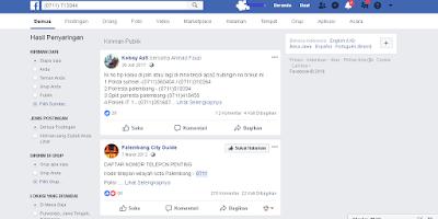 No. HP Polsek Palembang