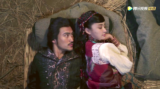 Yuan Hong and Zhang Xinyi in Princess Jieyou