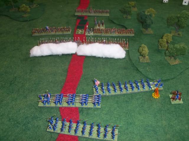Warlord Games ACW Black Powder battle report supply raid