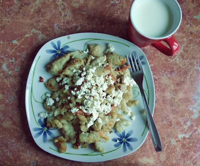 Przycieraki - danie dla miłośników ziemniaków