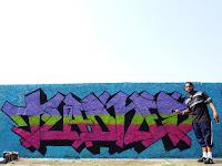 Grafite produzido na versão 2015 do evento Cultura & Conceito realizado no bairro Jaraguá