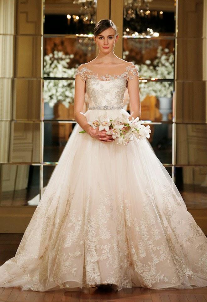 Romona Keveza Spring 2015 Bridal Collection - Belle The Magazine