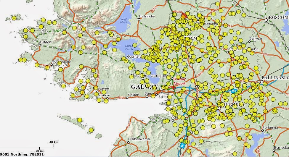Interactive Map Of Ireland For Kids.Infant Burial Grounds In Ireland The United Irishman
