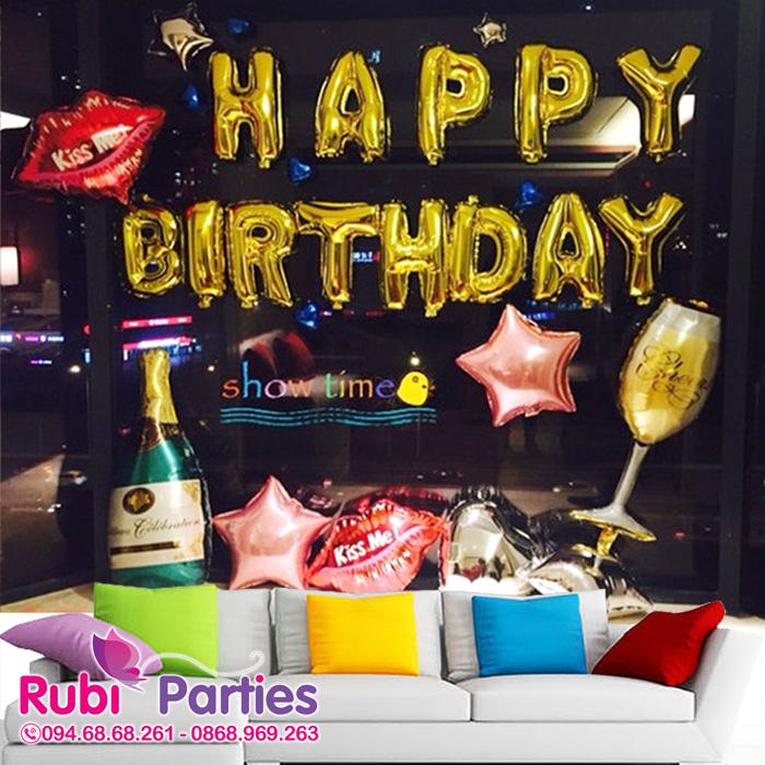 Bóng bay trang trí sinh nhật cho bé ở Nam Từ Liêm