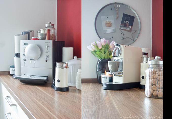 meine neue kaffeebar mein ideenreich. Black Bedroom Furniture Sets. Home Design Ideas
