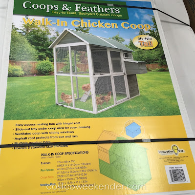Coops & Feathers Walk-in Chicken Coop - a perfect home for your flock