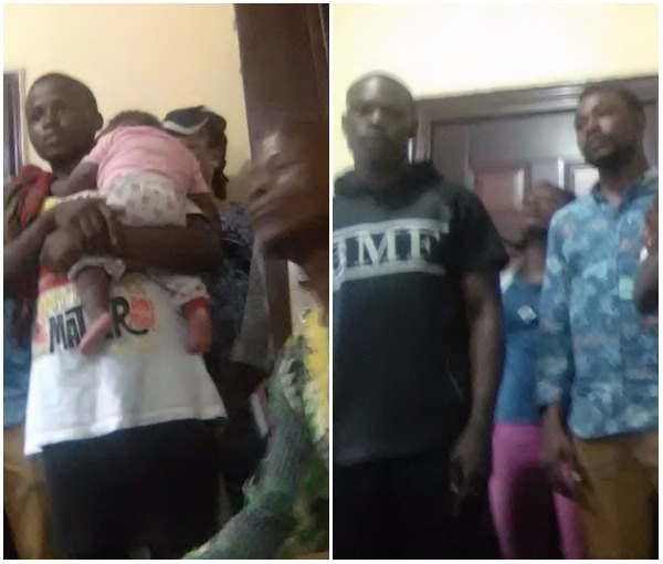 Two men in Warri fight over 5-month-old baby delivered by 18-year-old girl (photo)