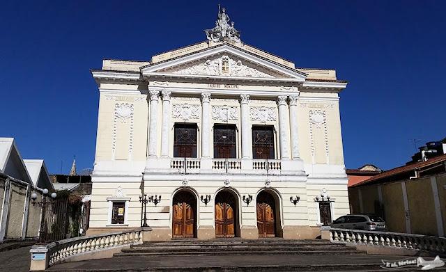 São João del-Rei, Caminho Velho, Estrada Real, Theatro Municipal