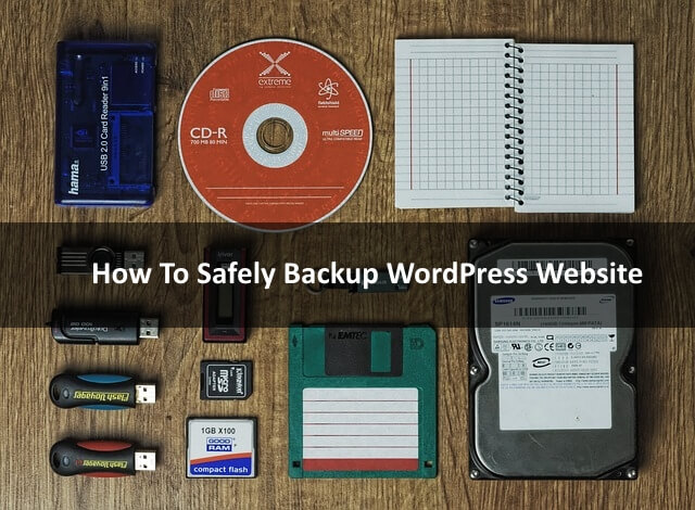 How To Sefely Backup WordPress Site Beginner Guide