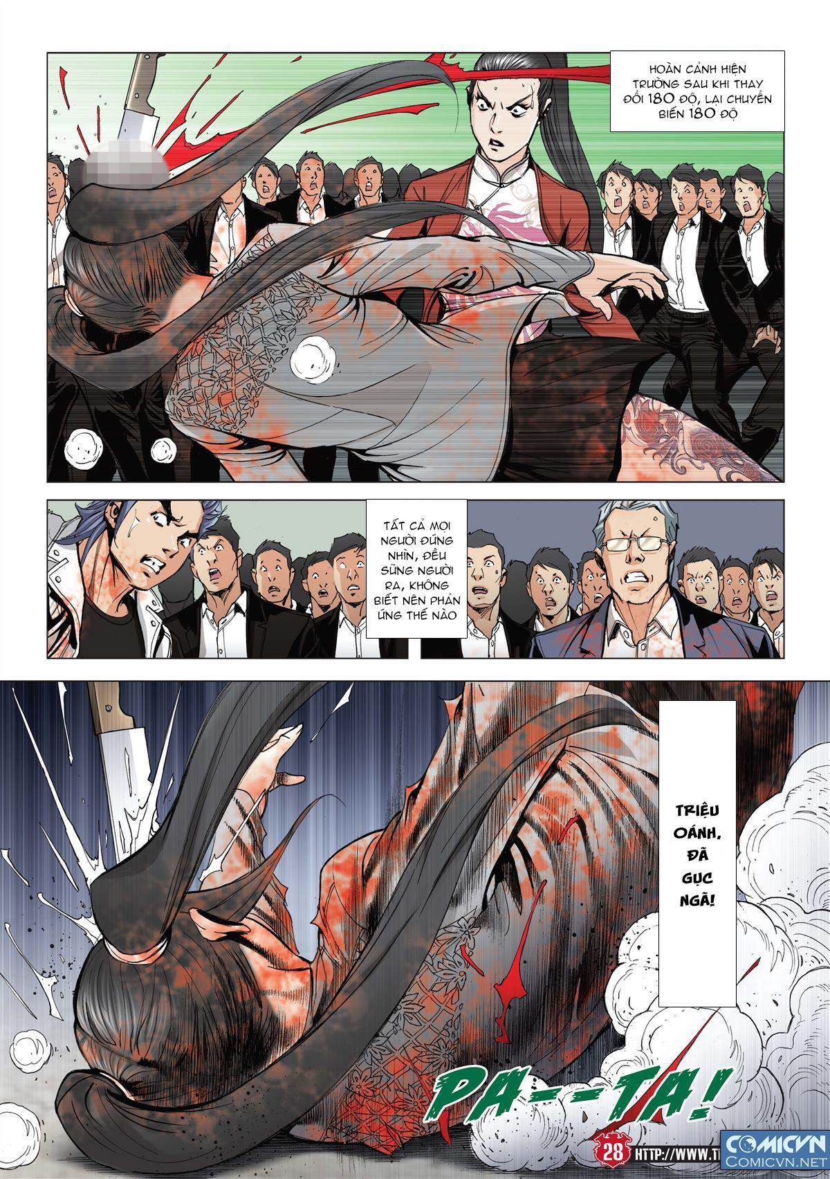 Người Trong Giang Hồ chapter 2001: tự tận trang 26