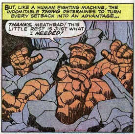 Fantastic Four 26 Thing Hulk