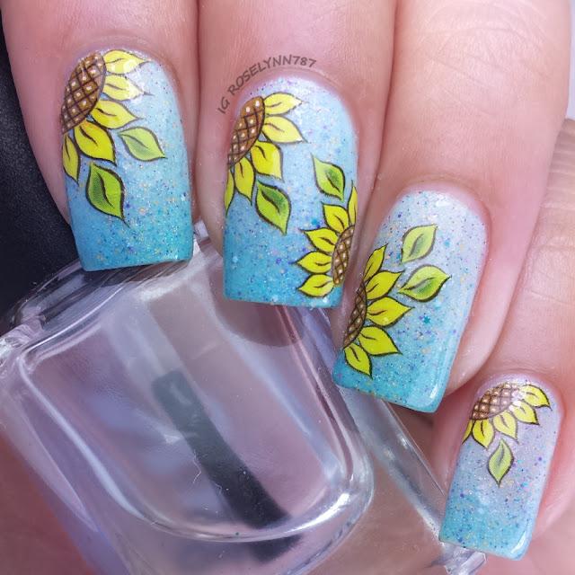 Born Pretty Store - Sunflower Decals