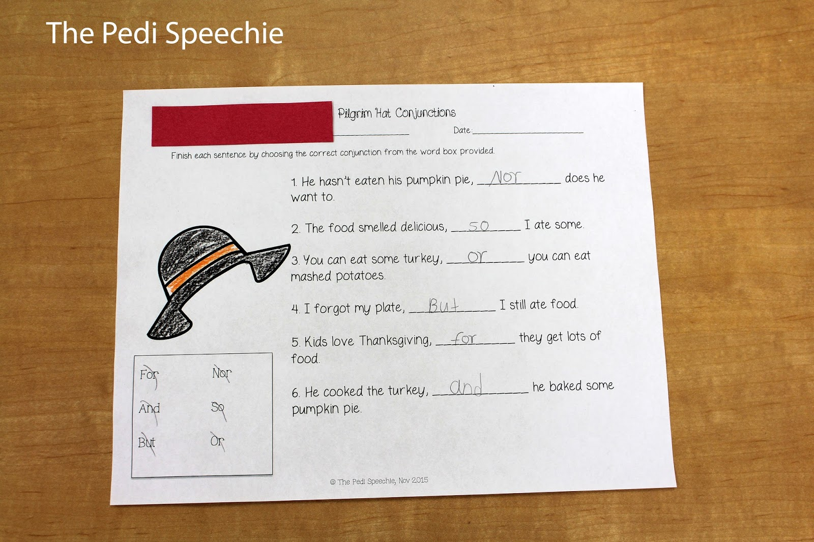 Speech Therapy Thanksgiving