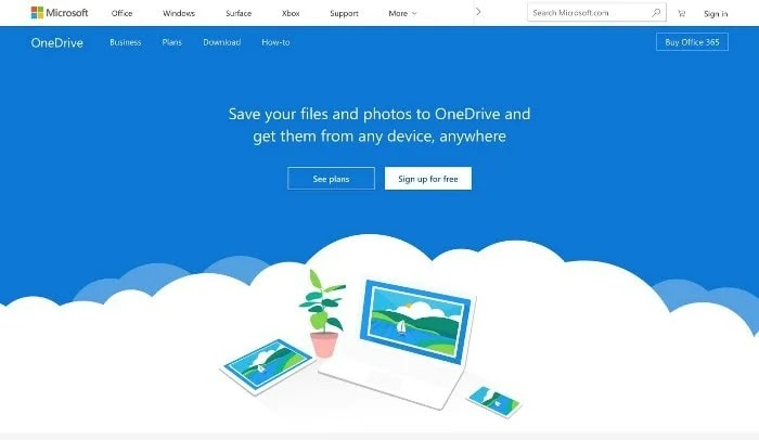 One Drive Cloud Storage Services